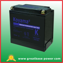 Golden Quality Motorcycle Battery 21ah 12V