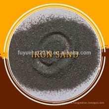 Sand blasting iron grit