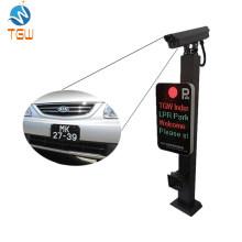 Customized Software for Automatic License Plate Recognition with Barrier and Customized