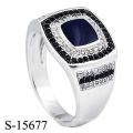 Modeschmuck 925 Sterling Silber Ring für Männer