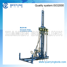 Pneumatic Mobile Rock Drill Line Drilling Machine