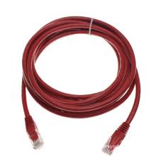 Benutzerdefinierte Red UTP RJ45 cat6 Netzwerk Patchkabel