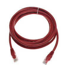 Cable de conexión de red rojo personalizado UTP RJ45 cat6