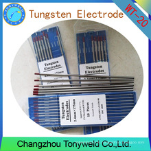 Welding electrode Wt20 Tungsten electrode