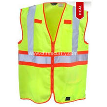 Men's High-Visibility Mesh Yellow Work Vest