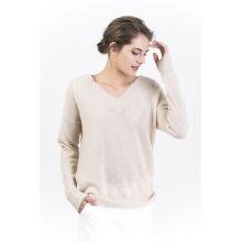 Женская V шеи пуловеры