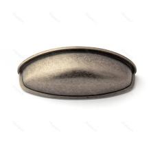 Aparador de armario negro maneja tiradores de cajones de aleación de zinc