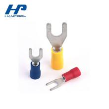 Connecteur électrique pré-isolé de sertissage de fil d'anneau thermo-rétrécissable