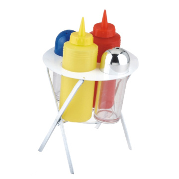 5pcs BBQ mini condiment set