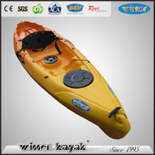 Hot Sale Single Sit on Top Plastic Kayak