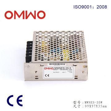 Fuente de alimentación de conmutación de salida simple LED