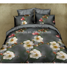 Hot New Products for 2015 3D Flower Design Home Textile Bed Cover Bedding Set