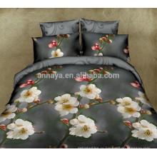 Горячие новые продукты для 2015 3D Цветочный дизайн Домашний текстиль Bed Bed Постельное белье Set