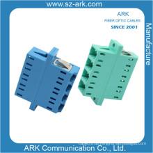 Konkurrenzfähiger Preis LC Vier-Kern-Zweiteiliger Faseroptik-Adapter
