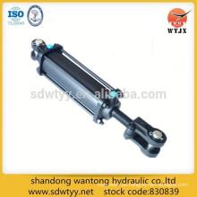 Uso agrícola cilindro hidráulico barra de acoplamiento