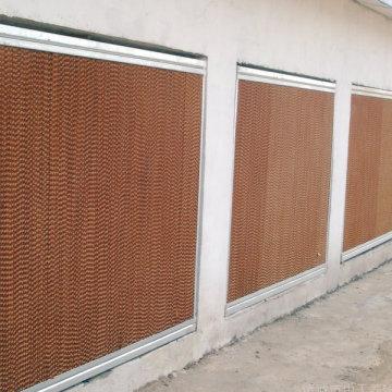 Almofada de Resfriamento Evaporativo para Casa de Aves / Estufa