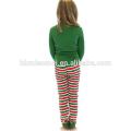 2017 wholesale baby clothing set girls pajamas christmas family pajamas