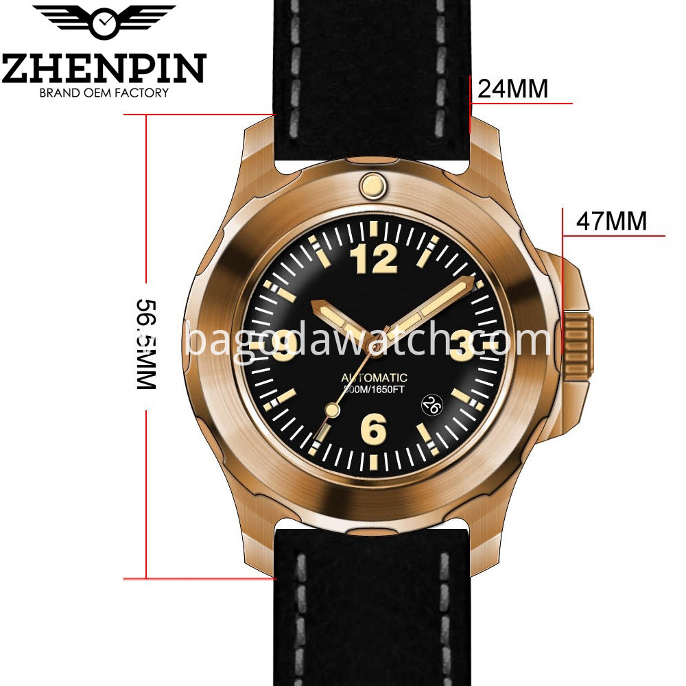 Men Bronzen Watches