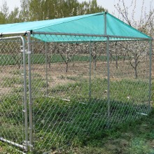 Ogród Outdoor Chain Link Boxed Dog Run