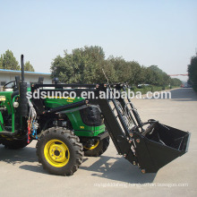55hp,4WD Tractor with TZ05D Loader