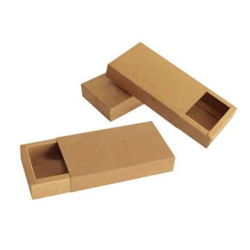 Cajas corredizas plegables del cajón del papel de Kraft del paquete