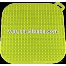 Estera de secado de silicona con varios estilos