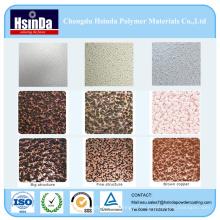Verschiedene Farbe Metallic Hammer Texture Pulverfarbe Spray Coating