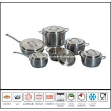12PCS Stainless Steel Dutch Oven Cookware Set Sc618