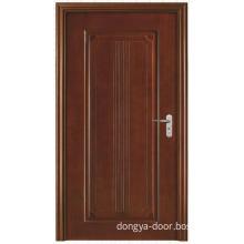 Single Flush Solid Wooden Door (DY-706)