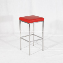 Modern Stainless Steel Bar Stool