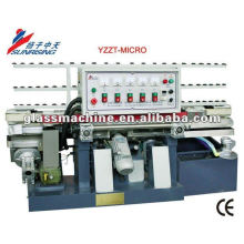 YMLA211 Mini Straight Line Glass Edging Machinery With 4 Wheels