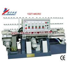YMLA211 Mini Straight Line Glass Edging Machinery With 4 Wheels