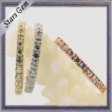 Zirconia cubique 925 bijoux en argent sterling pour femme