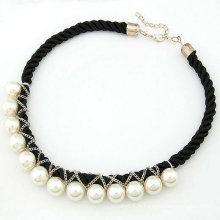 Collier de bijoux en perles de mode en gros Collier tissé FN73