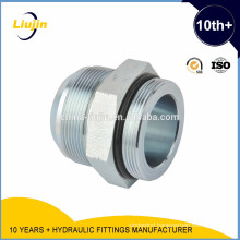 With 10 years experience factory supply high quality male straight pipe fittings