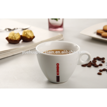 Tasse de tasse en céramique en porcelaine fine et durable pour le café