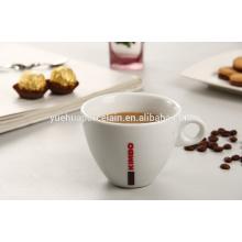 Круглая чашка керамического кружка фарфора керамическая для кофеего