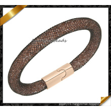 Fashion Crystal Mesh Magnetic Stardust Bracelet, Hot Sale Bracelets (FB0127)