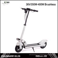 Moteur électrique Scooter pliable à l'usine de 350 V 10 pouces