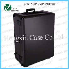 Professionable Makeup Trolley Case with Light and Mirror (HX-P2586)