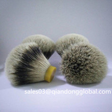 Natural Silvertip Badger Hair Knot