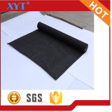 Black High quality polyester impregnated nonwoven chemical bonded
