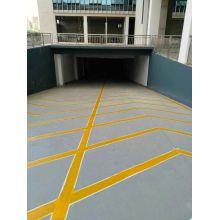 Special epoxy slipping mortar floor