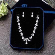 Aoliweiya Fashion Necklace Earring for Bride