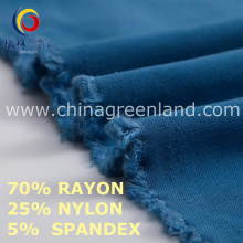 Nylon Rayon Spandex tecido para a indústria têxtil (GLLML461)