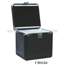 Boîtier de CD aluminium 120 CD disques fabricant, Chine