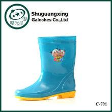 Cargadores de lluvia de los niños de botas de media C-702