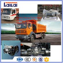 Beiben Dump Truck Parts para el camión de servicio pesado