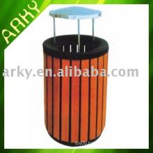 Good quality Wooden Outdoor Wastebin