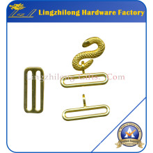 Metal Alloy Gold Plating Masonic Snake Buckles
